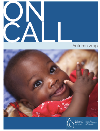 Cover of On Call Autumn Issue